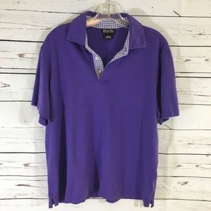 Michael Kors Purple Short Sleeve Shirt NWOT